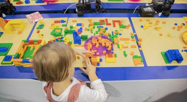 Maker Faire 2019, la città ideale si costruisce con i mattoncini Lego