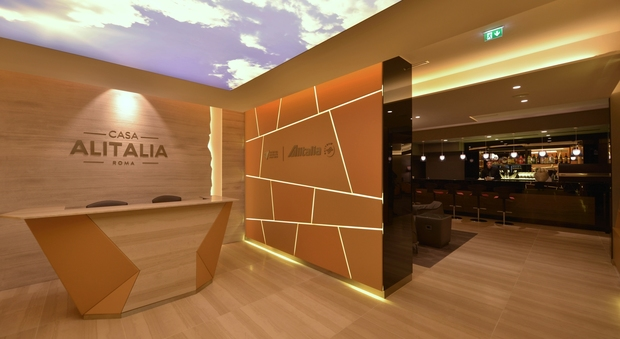 Casa alitalia ecco le nuove lounge di fiumicino e malpensa for Case vip roma