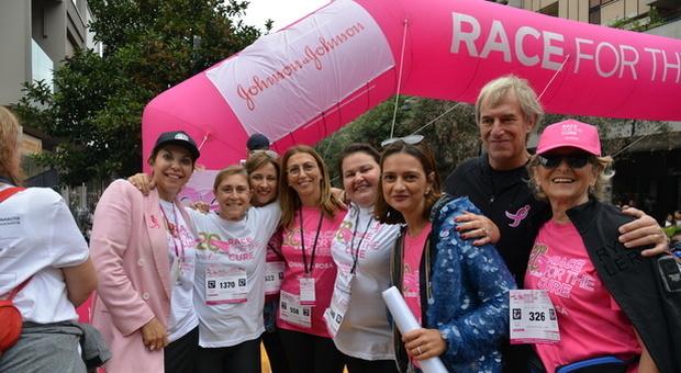 La manifestazione Race for the cure dello scorso novembre