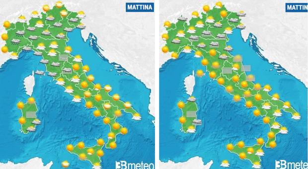 Meteo previsioni: finesettimana all'insegna del caldo fino a 20 gradi, l'anticiclone africano porta la Primavera