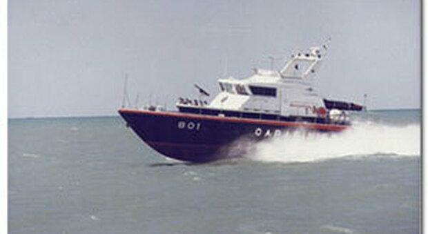 La motovedetta dei carabinieri