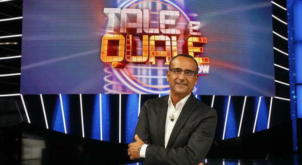 Carlo Conti sta ancora male, Tale e Quale Show venerdì in onda con una conduzione a tre