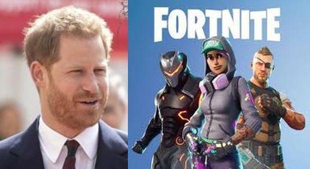 Il principe Harry contro il videogioco Fornite