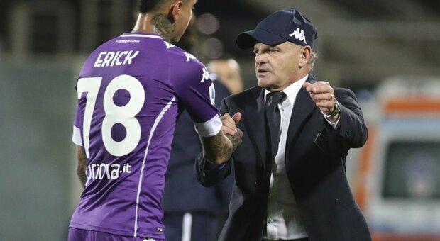 Iachini: «Fiorentina a Roma senza paura». E ritrova Ribery