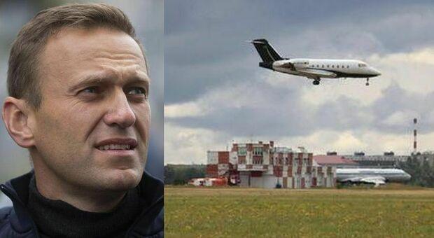 Navalny, aereo partito per la Germania. Dottoressa: «Perso tempo per cancellare tracce veleno»