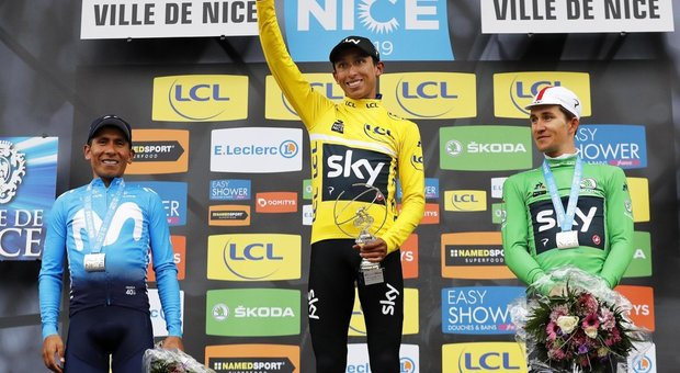Ciclismo, Parigi-Nizza: sprint vincente di Bennett, Aru si ritira