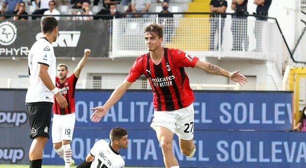 Spezia-Milan 1-2