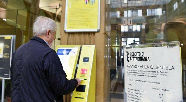Reddito di cittadinanza a 1,3 milioni di famiglie: Campania come l'intero Nord