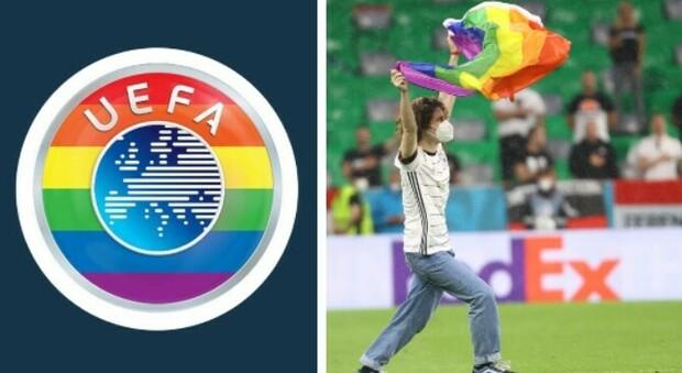 Uefa all'Ungheria: «Simboli arcobaleno consentiti allo stadio, non sono politici»