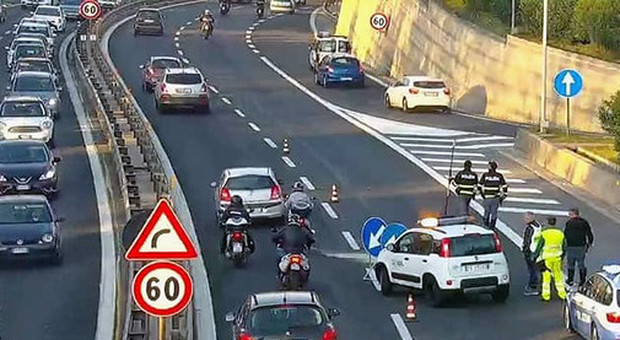 Record d'incidenti sull'A24: è il tratto il più pericoloso d'Italia