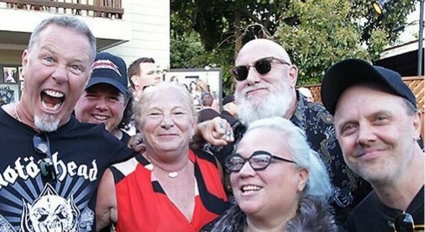 Megaforce Records: è morta Marsha Zazula. L'addio di James Hetfield alla «Matriarca del metal»