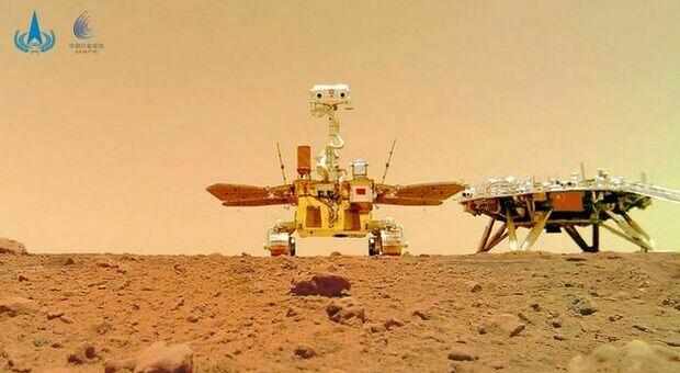 Marte, i primi rumori del Pianeta Rosso registrati dal rover cinese