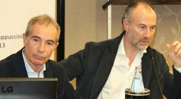 Saturnino Gasparini e Gian Luigi Giovene