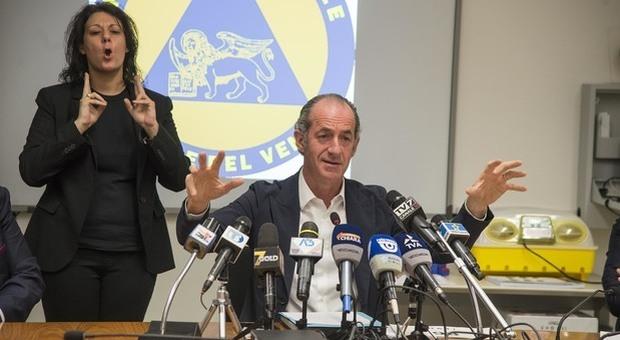 Coronavirus Veneto, Zaia: «La discesa è ormai importante, calano i pazienti e aumentano i guariti»
