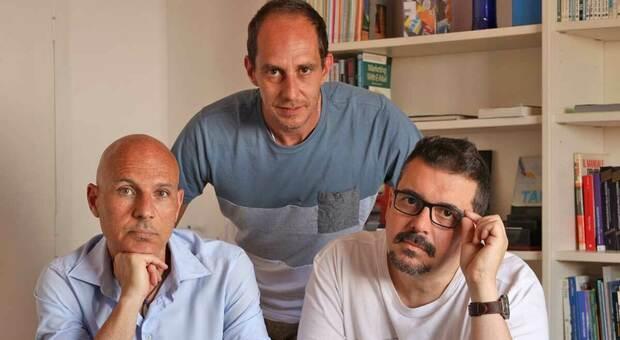 Alessio Alessandrini, Alessandro Angelelli e Roberto Mancini