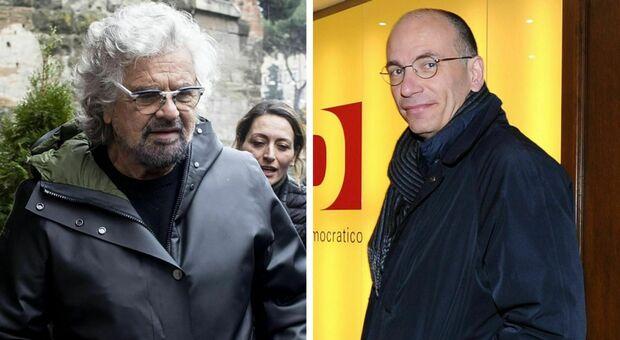 Roma, Letta evoca le primarie Pd con Gualtieri candidato, Grillo blinda Raggi