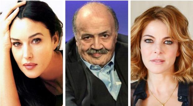 Festival di Sanremo, Maurizio Costanzo stanga Monica Bellucci e Claudia Gerini: «Stessero a casa loro»