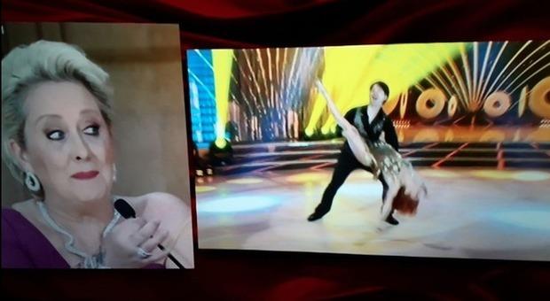 Ballando con le Stelle, Alessandra Tripoli incidente sexy durante l'esibizione