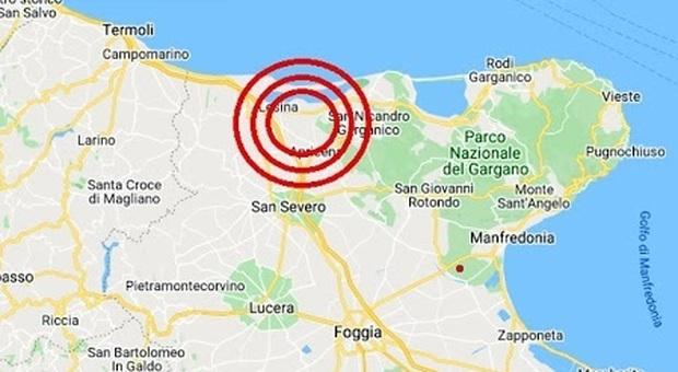 Terremoto Puglia di 3.7, paura all'alba da Foggia a Campobasso ma nessun danno