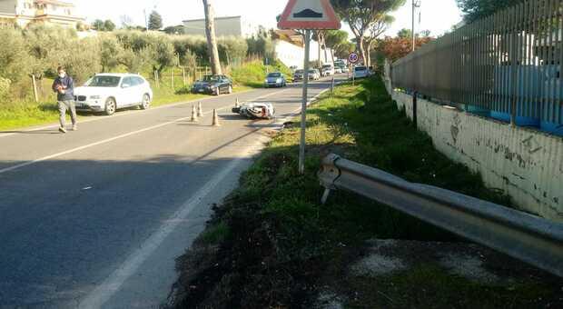 Via Appia Nord incrocio via della Vite