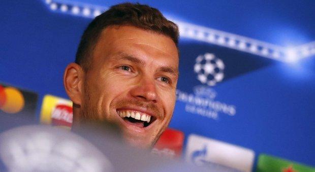 Roma, Dzeko: «Troveremo un Chelsea arrabbiato»