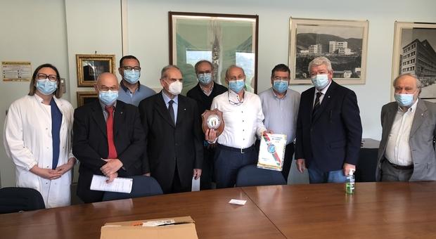 Terni Le Associazioni Benemerite Del Coni Donano Mascherine E Saturimetri In Sport E Solidarieta L Unione Fa La Forza