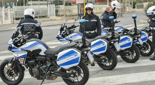 A Marino il raduno dei centauri delle Polizie locali