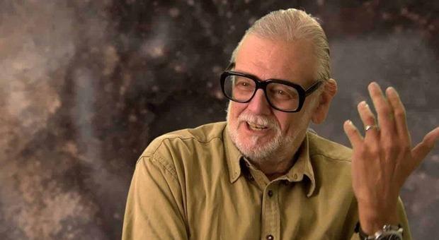 Il regista George A. Romero