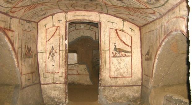 visita guidata: LE CATACOMBE EBRAICHE DI VIGNA RANDANINI