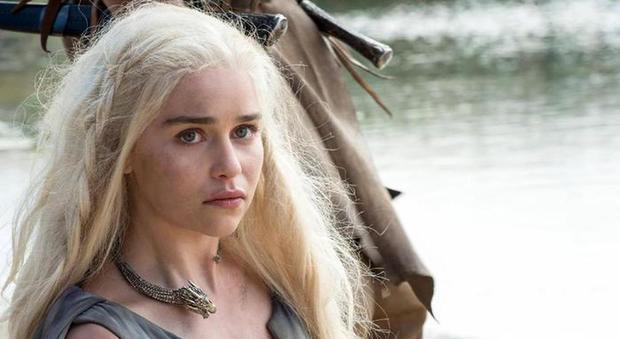 Emilia Clarke, una delle attrici di Game of Thrones