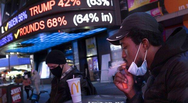 Covid, Usa record: 107mila contagi in 24 ore. Morti aumentati del 21% in una settimana