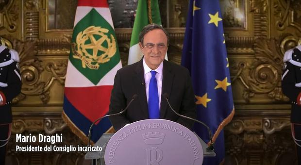 Crozza-Draghi in Fratelli di Crozza su NOVE