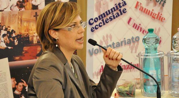 Francesca Di Maolo , presidente del Serafico di Assisi