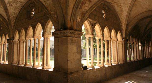 Rettorato di Santa Maria in Gradi: chiostro medievale