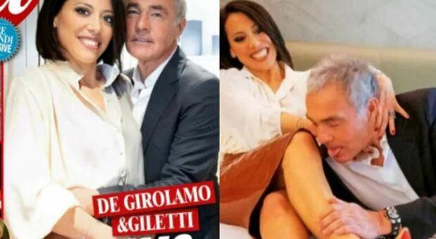 """Nunzia De Girolamo condurrà in Rai """"Ciao Maschio"""" e si lascia fotografare in pose ammiccanti con Massimo Giletti"""