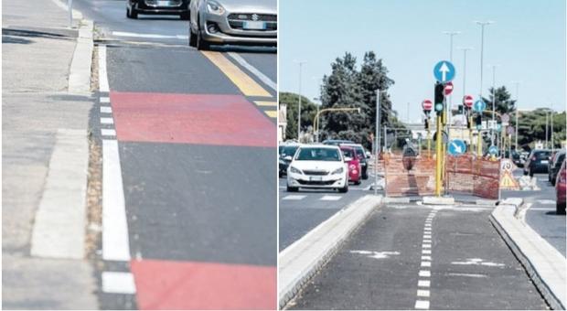 Ciclabile Pineta Sacchetti, tra traffico e sicurezza la pista divide il quartiere