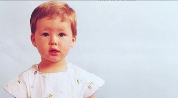 Michelle Hunziker, la foto da bambina: uguale ad Aurora