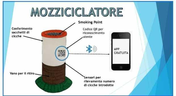 """Il """"mozziciclatore"""" ideato dagli studenti del Rosatelli tra i 39 progetti presenti al RomeCup2021"""