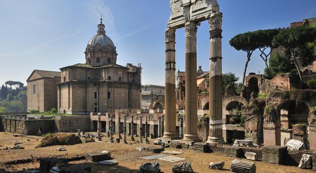 Un Moderno Foro Di Roma.Lo Scavo Del Foro Di Cesare Parte La Cantierizzazione