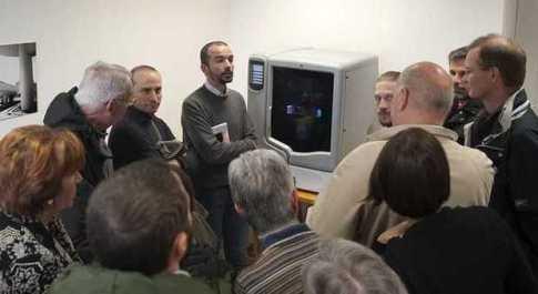 La presentazione della stampante 3d a Maratta