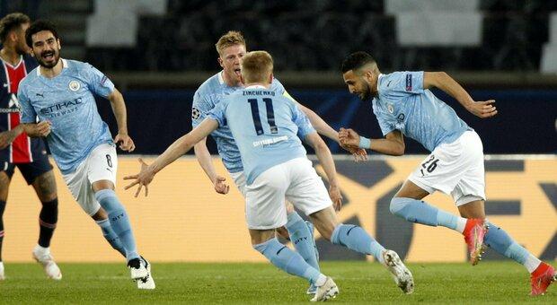 Il Manchester City vince a Parigi e Guardiola vede la finale: Pochettino ribaltato nella ripresa