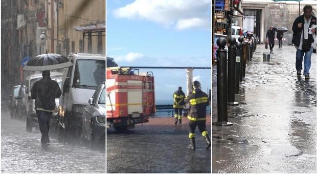 Scuole chiuse domani a Napoli e in 11 comuni vesuviani per l'allerta meteo