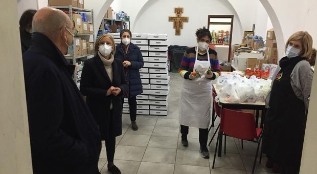 La Mensa di Santa Chiara ha bisogno di aiuto, la Fondazione Varrone chiama la città