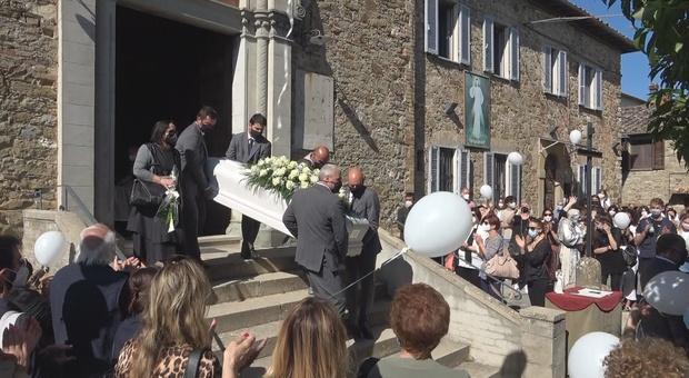 I funerali di Giorgia Panciarola (foto UmbriaOn.it)