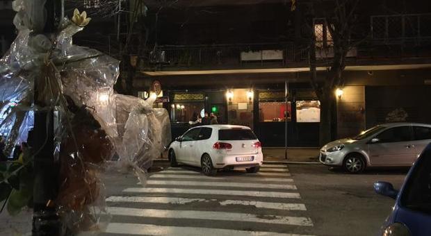 La strada dove è stato ucciso Luca Sacchi