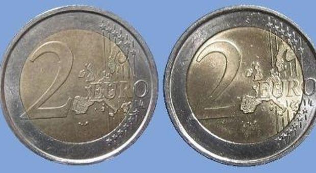 a21cc45267 Napoli, allarme soldi falsi: sequestrate 900 monete da 2 euro. Il trucco  per non farsi imbrogliare