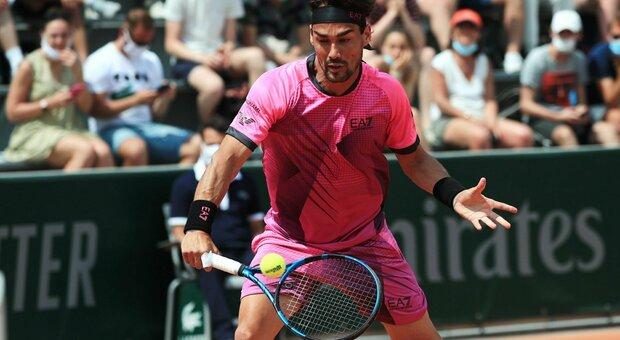 Roland Garros, uno straordinario Fognini batte Fucsovics e vola al terzo turno