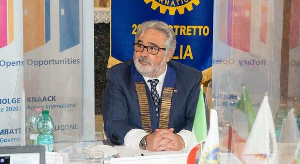 Giovambattista Mollicone, governatore del Distretto Rotary 2080