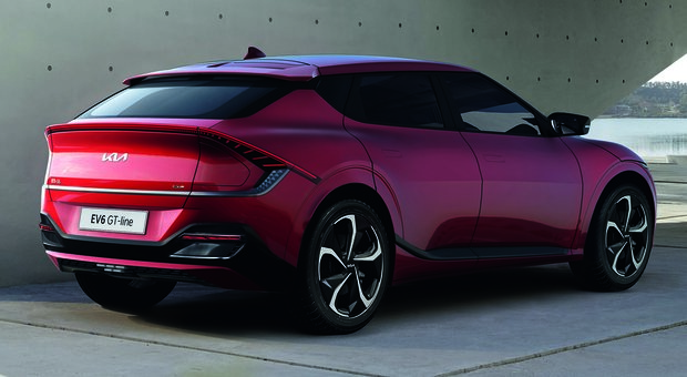 La nuova Kia elettrica EV6