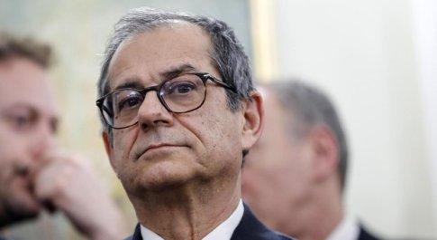 Tria: «Italia verso crescita zero ma nessuno ci chiede una manovra correttiva»